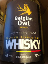 Belgian Owl Intense single cask 5560227