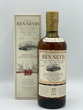Ben Nevis 10 Years old Batch 1 Limited Edition 62.4%