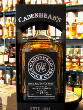 Cadenhead Single Cask Bruichladdich 25 Years Bottled for the 25 Th Anniversary of Bresser & Timmer