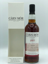 Carn Mor Strictly Limited Edition Glenlossie 12 years Sherry Hogshead 2007