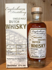 Eaglesburn Distillery Single malt Virgin Oak whisky 2019 47%