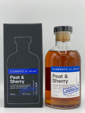 Elements of Islay PEAT & SHERRY ( Exclusive to the Netherlands ) 56.2%