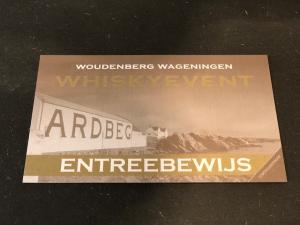 Toegangsbewijs Woudenberg Whiskyevent 2022 30 April MIDDAGSESSIE