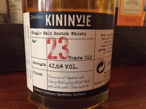 Kininvie 23 Old