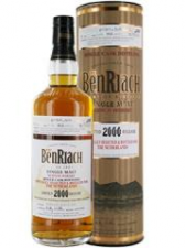 The Benriach limited 2000 release