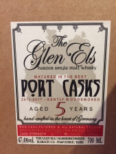 The Glen Els Port Cask Aged 5 Years old