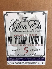 The Glen Els PX Sherry Cask aged 5 Years Old