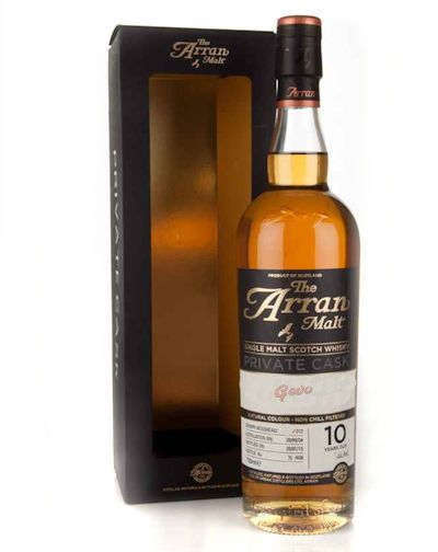 The Arran Malt Private Cask Pot still 10 Years