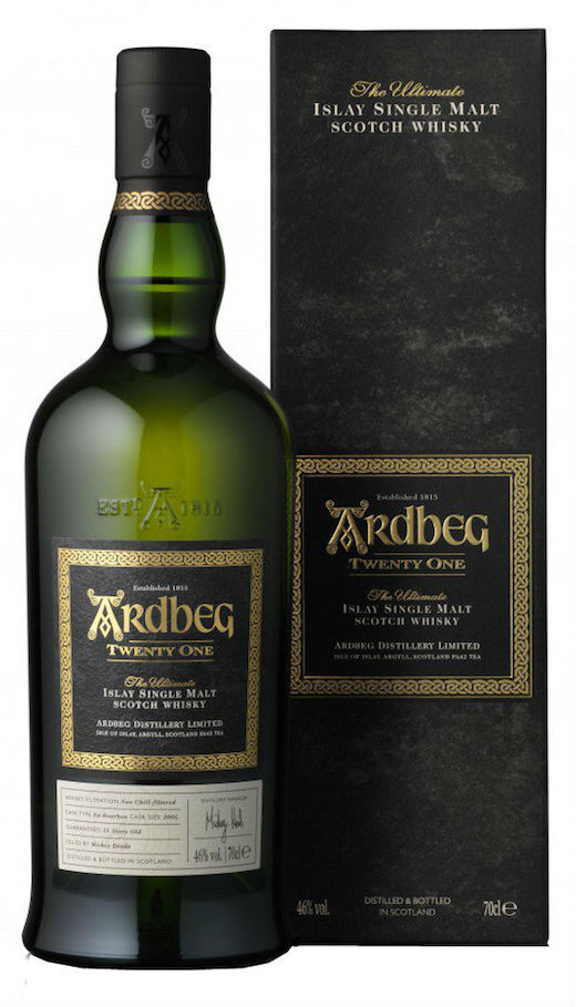 Ardbeg Twenty One Years old