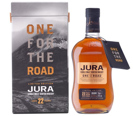 Jura One for the Road 22 Years old Pinot noir Finish Exclusive small batch