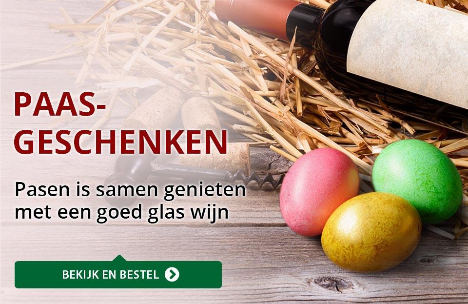 Wijngeschenken - Pasen - rood