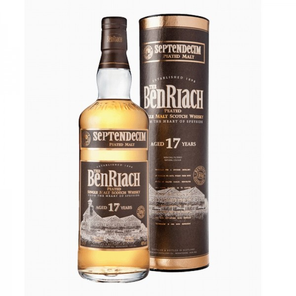 The Benriach 17 Years old Peated Septendecim