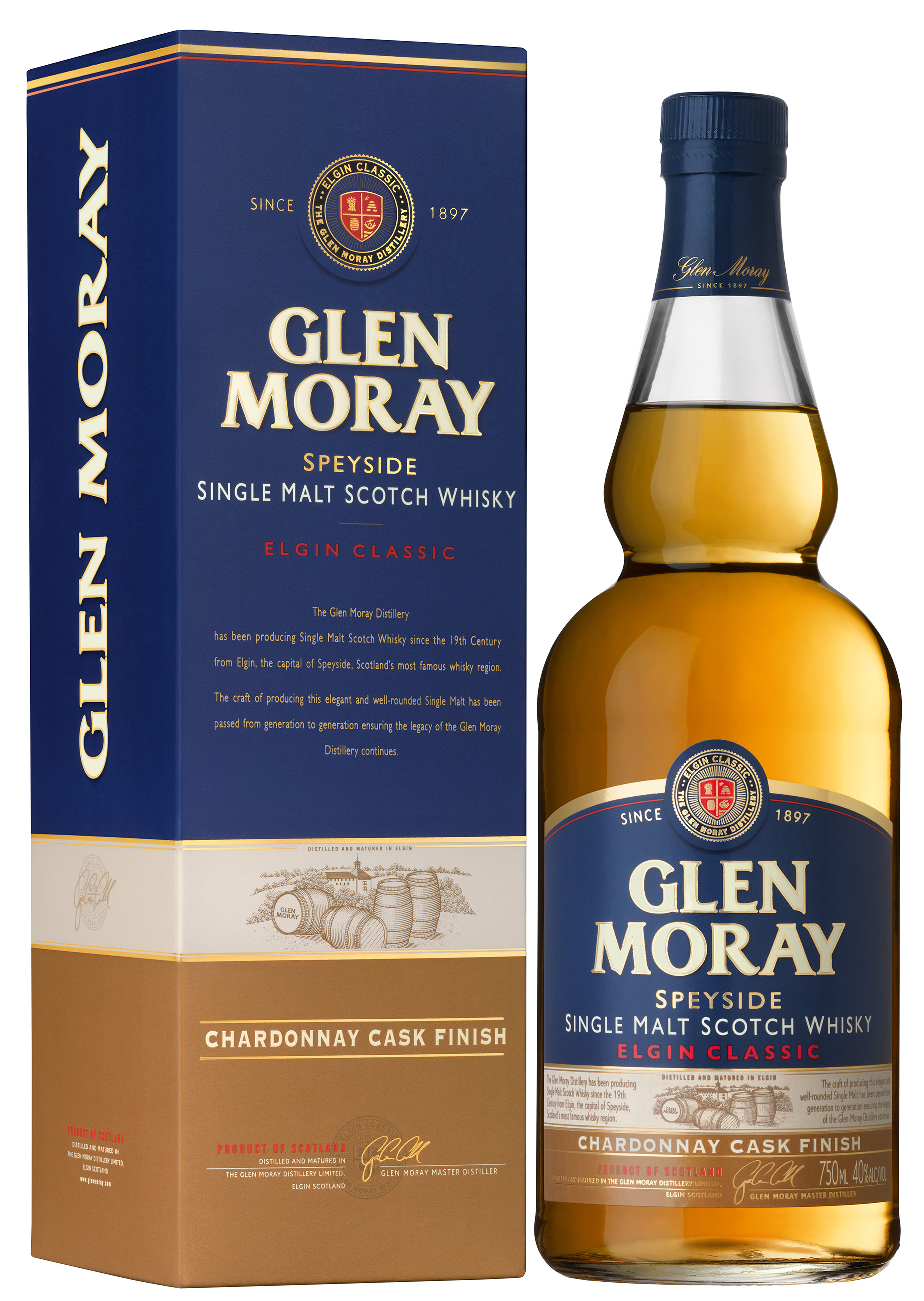 The Glen Moray Chardonnay Cask Finish