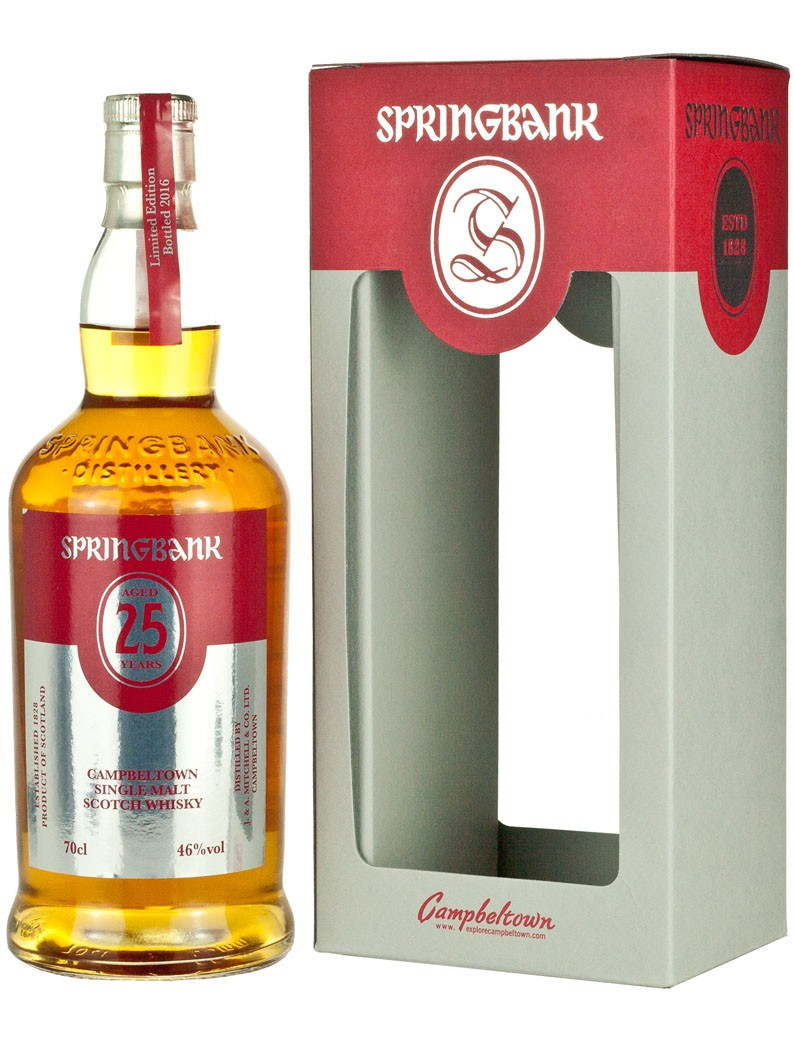 Springbank 25 Years old LIMITED EDITION !!
