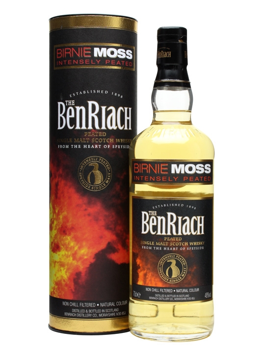The Benriach Birnie moss (intensely peated)