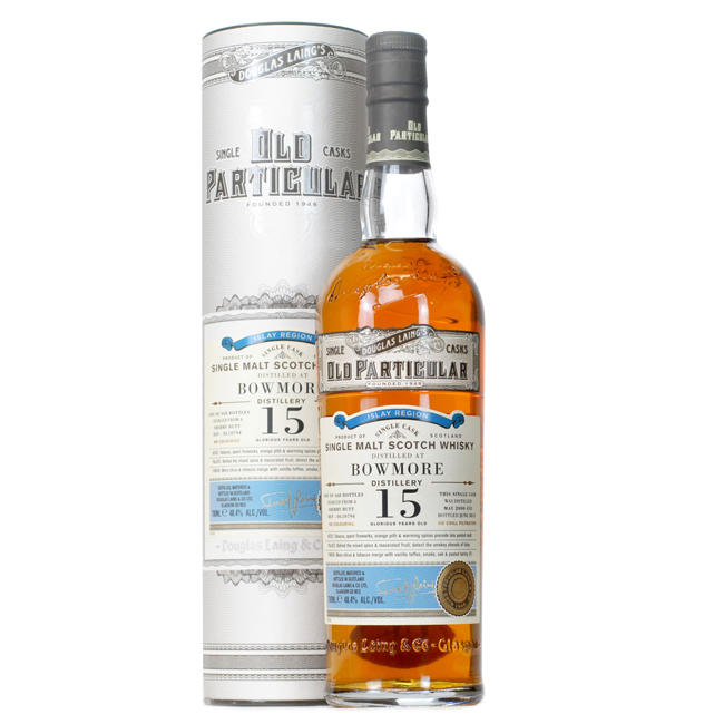 Old Particular Bowmore 15 Years ( 468 bottles) Douglas laing & Co