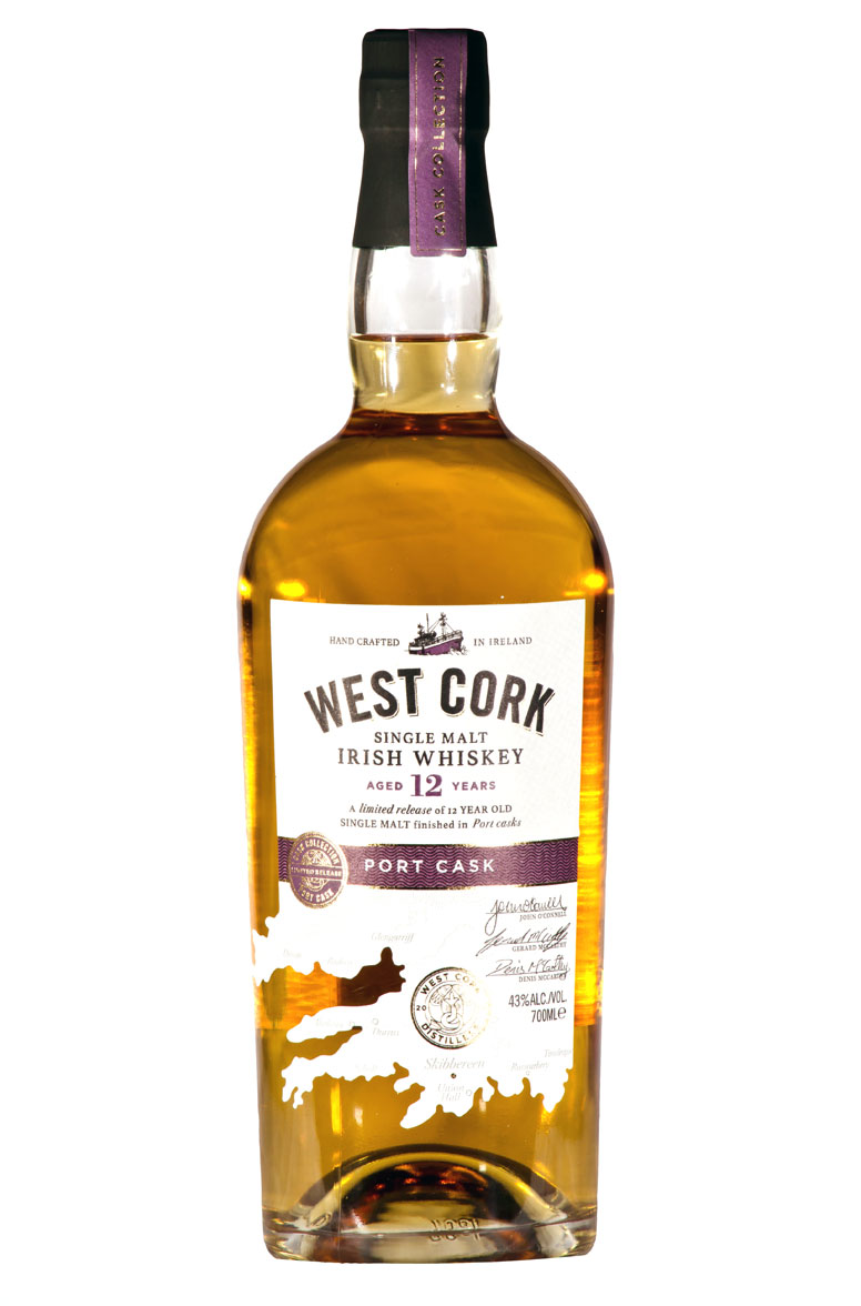 West Cork Port cask Irisch whiskey