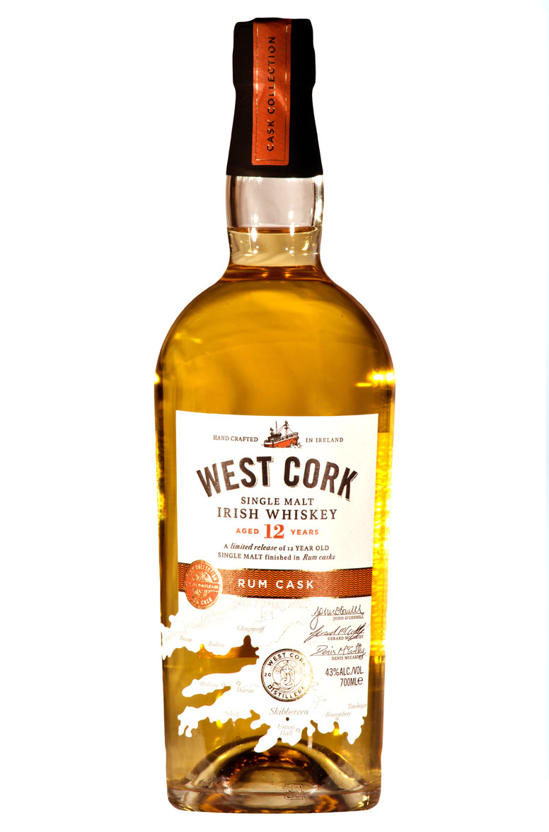 West Cork Rum cask Irisch whiskey
