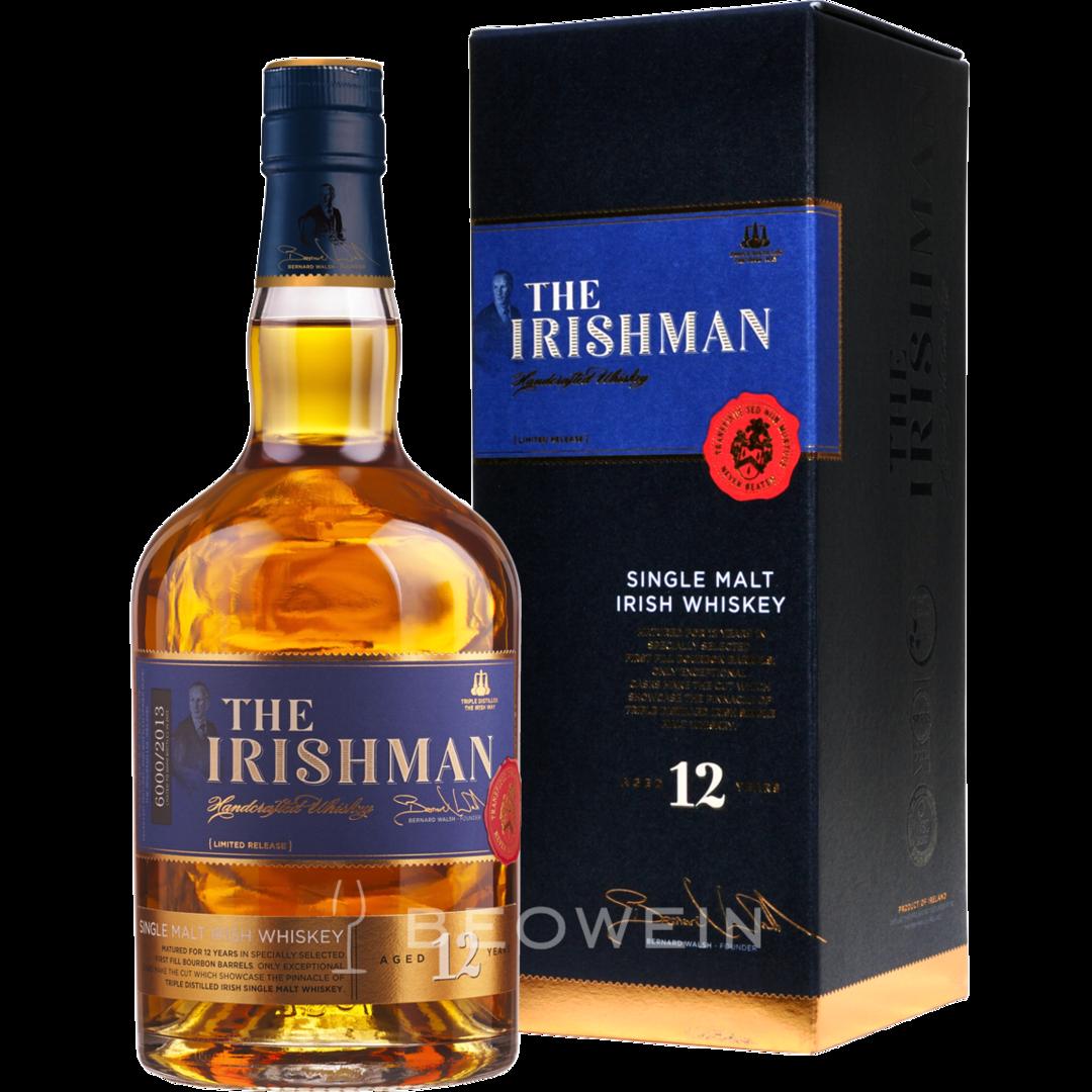 The Irishman Single malt 12 years
