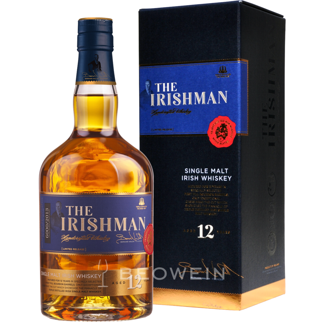 The Irishman Single malt 12 years