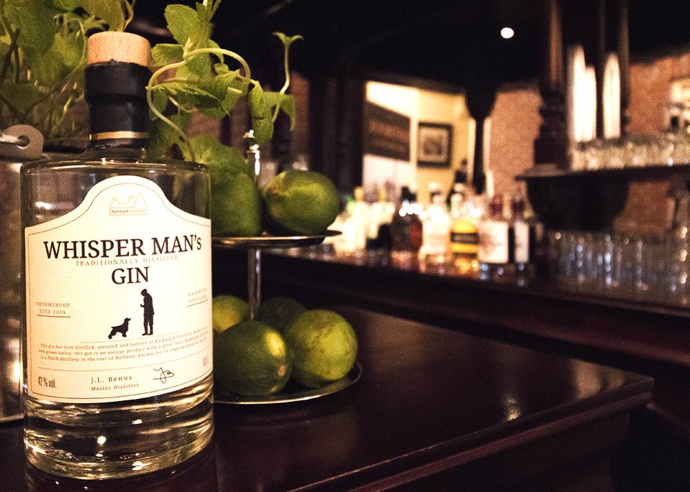 Whisper Man's aged gin ( kalkwijck )