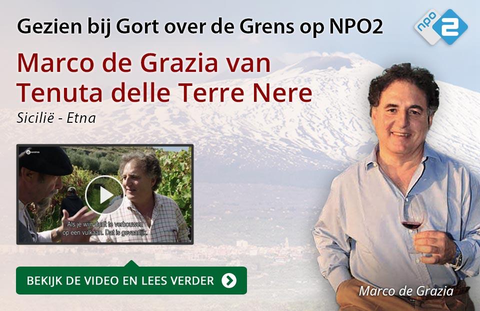 Marco de Grazia van Terre Nere op NPO2 - rood