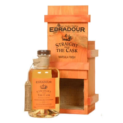 Edradour SFTC 10 Years Madeira Cask Matured 59,9% cask 219