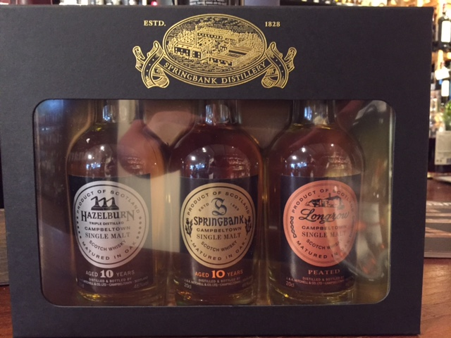 The Campbeltown Malt geschenkset ( springbank )
