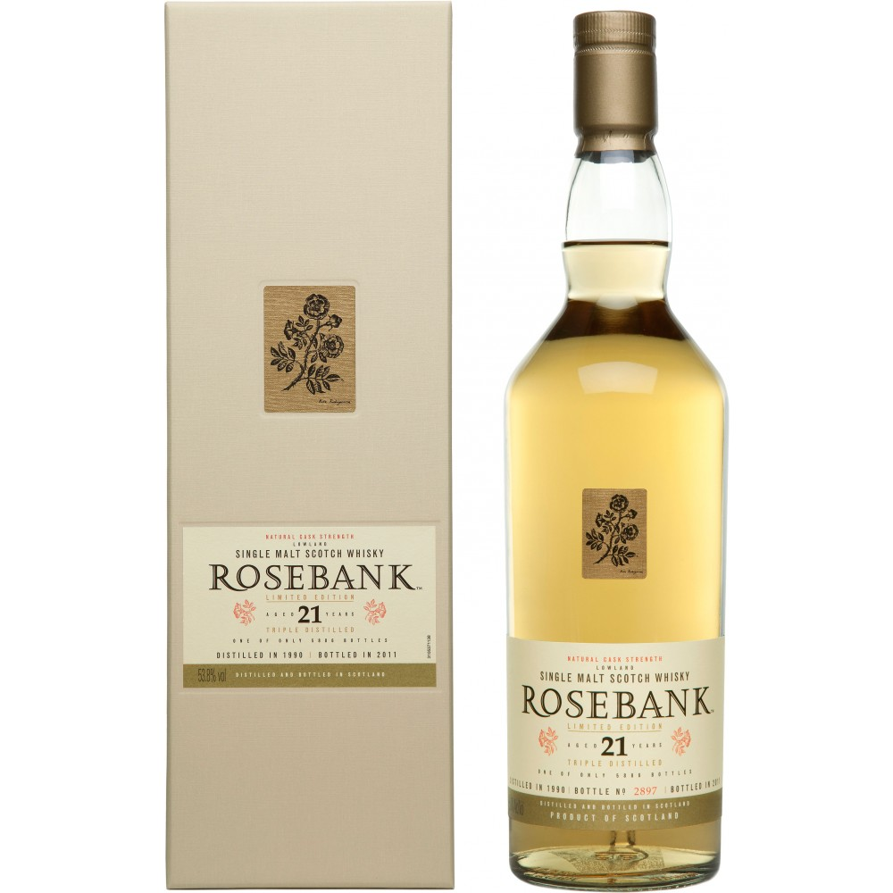 Rosebank 21 Years Limited edition
