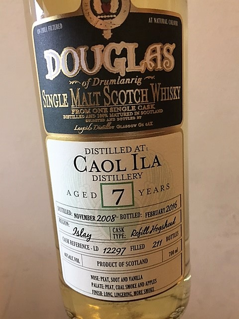 Douglas Caol Ila 7 Years Refill Hogshead