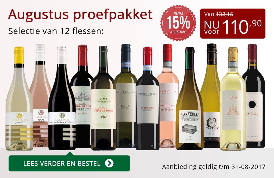 Proefpakket wijnbericht augustus 2017 (110,90) - rood