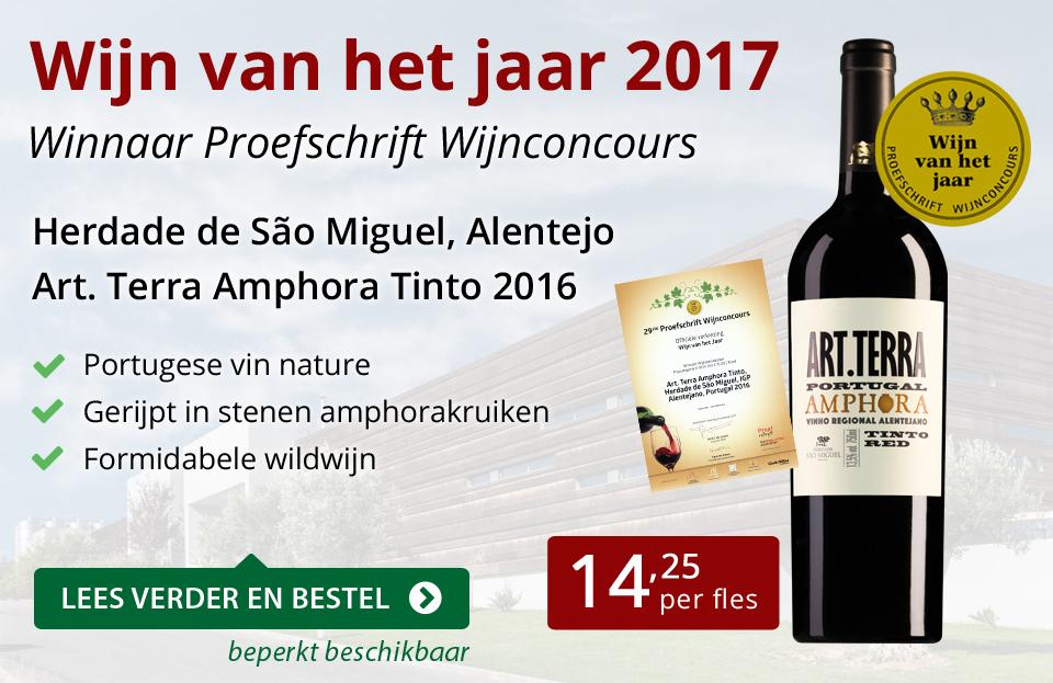 Proefschrift Wijn van het jaar 2017 - rood