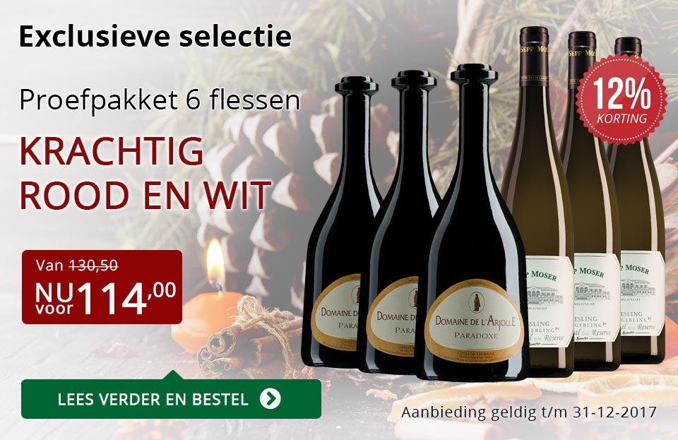Proefpakket bijzondere wijnen december 2017 (114,00) - rood