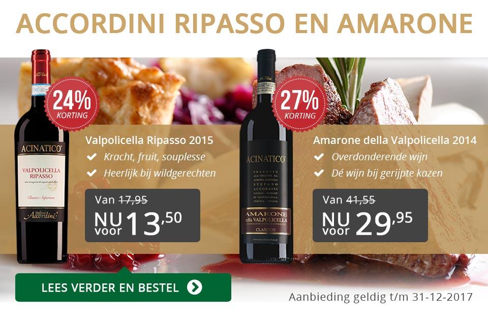 Accordini Ripasso en Amarone