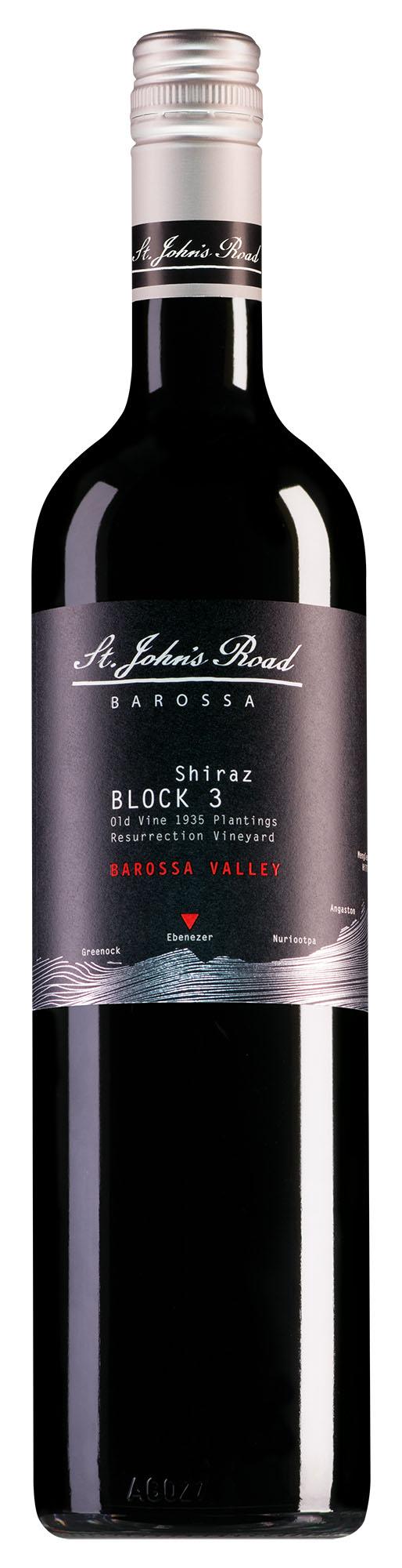 St. John's Road Barossa Valley Block 3 Shiraz