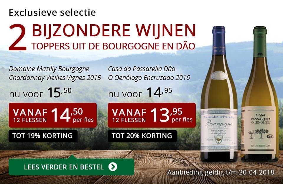 Exclusieve wijnen april 2018- rood
