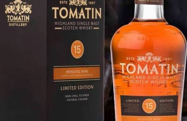 Tomatin 15 Years moscatel Limited release