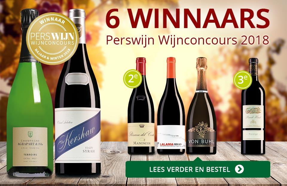 Perswijn wijnconcours 2018 - rood