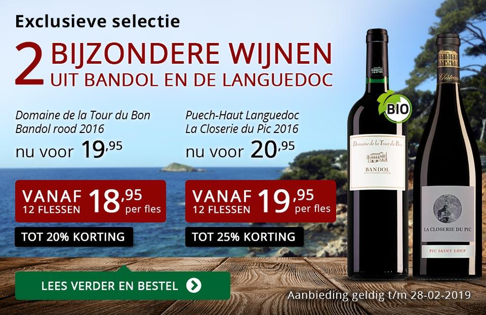Twee bijzondere wijnen februari 2019 - rood