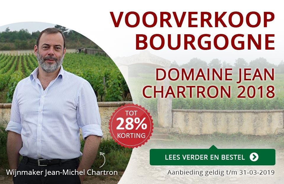 Voorverkoop Bourgogne: Domaine Jean Chartron 2018 - rood