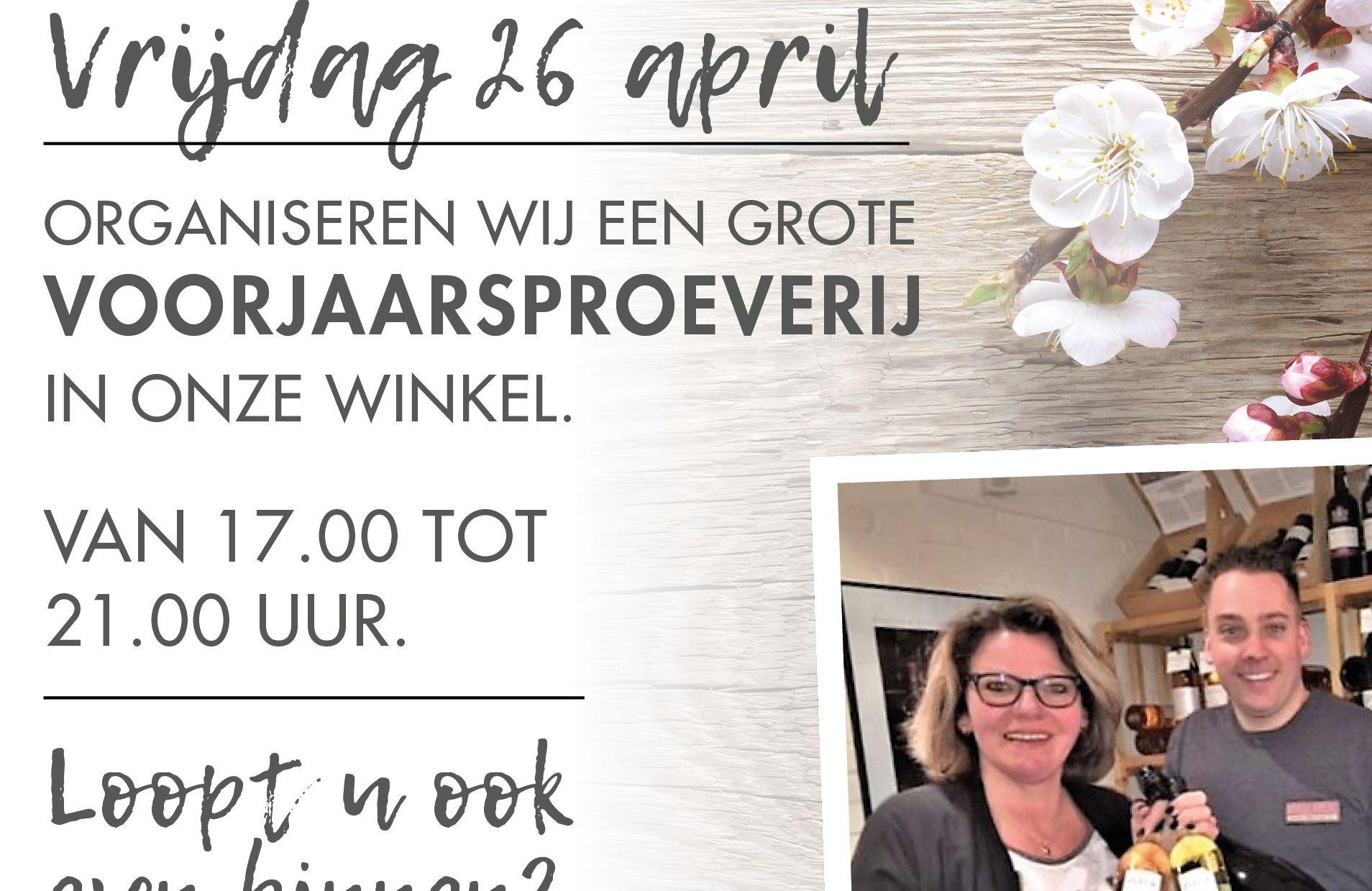 WIJNPROEVERIJ APRIL 2018