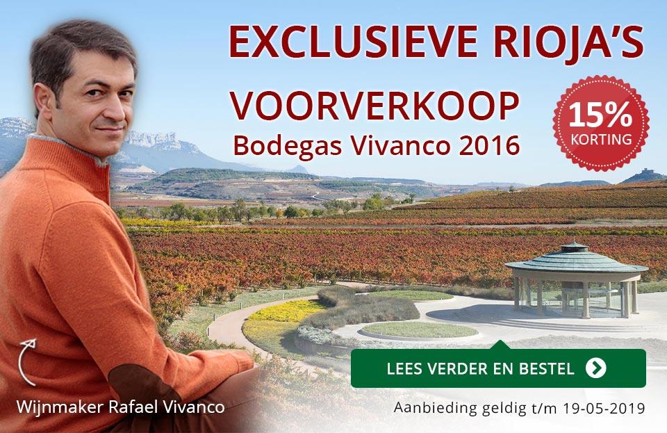 Voorverkoop Vivanco 2016 - rood