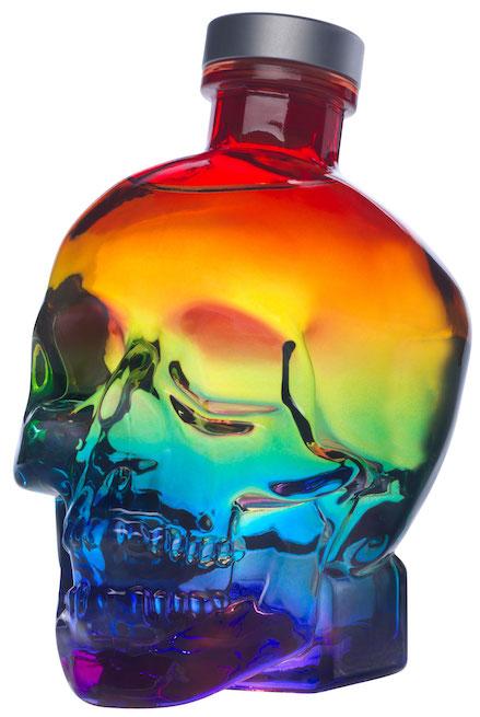 Crystal Head Rainbow 40%