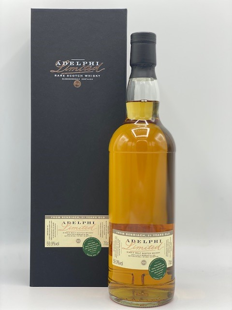 Adelphi Benriach 21 Years old 59.9%