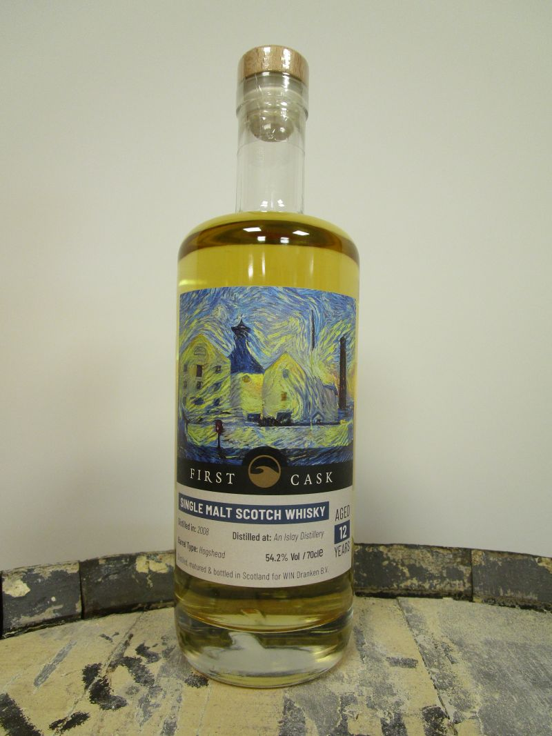 """An Islay Distillery"" 2008 A Secret Lagavulin 12 y.o. 54,2% Hogshead 278 flessen"