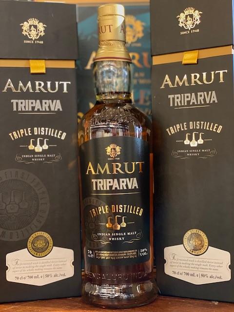 AMRUT Triparva Single Malt Whisky 50%