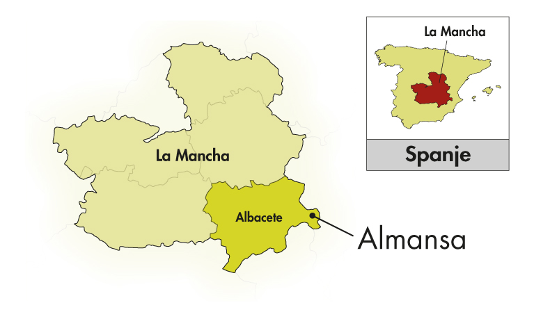 Bodegas Piqueras Almansa Black Label Syrah-Monastrell