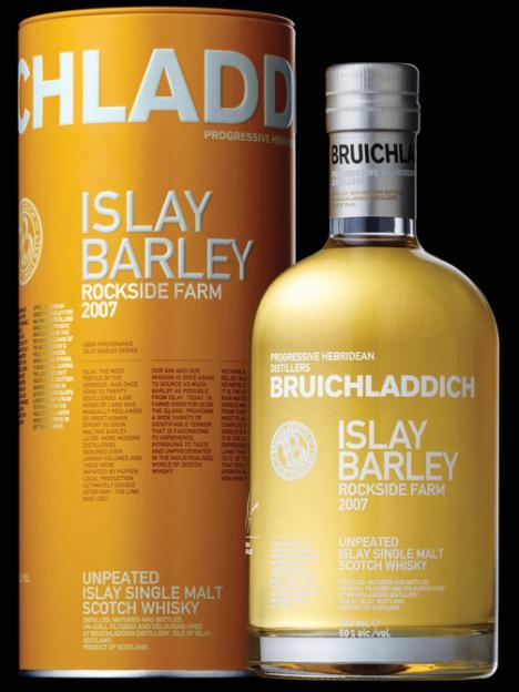 Bruichladdich Islay Barley Rockside Farm 2007