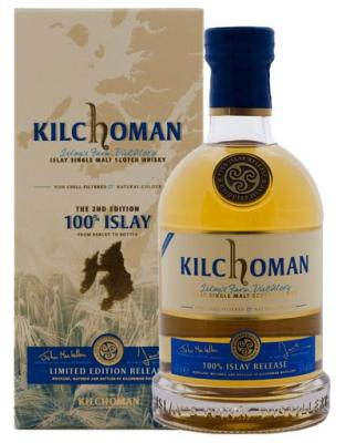 Kilchoman 100% Islay second edition 50%