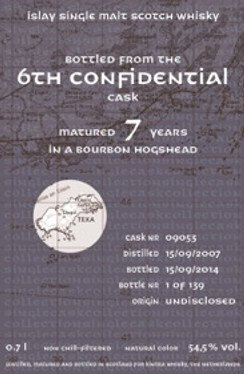 Kintra 6TH Confidential 7 Years in Bourbon Hogshead